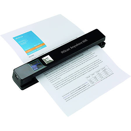 Iris Iriscan Anywhere 5 Wifi Portable Document And Photo Scanner 12 Ppm Mono 12 Ppm Color Pc Free Scanning Usb Item 658029