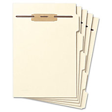Smead Hinge Covered Fastener File Folder