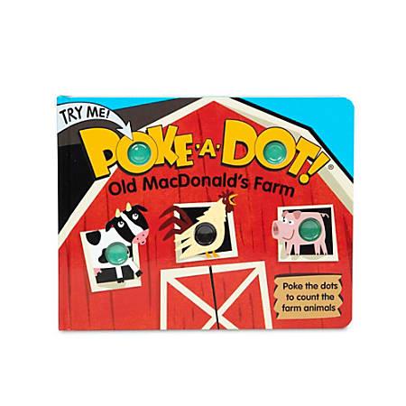 Melissa & Doug Pretend Play Educational Toys, Poke-A-Dot: Old MacDonald's Farm
