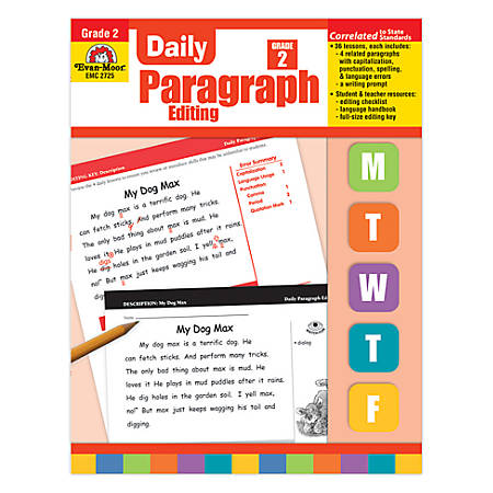 Evan-Moor® Daily Paragraph Editing, Grade 2 Item # 658115