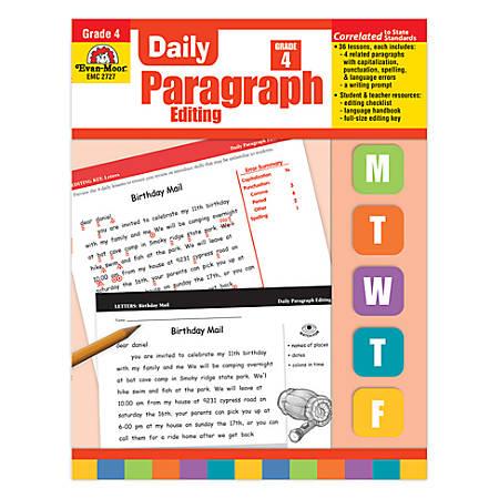 Evan-Moor® Daily Paragraph Editing, Grade 4