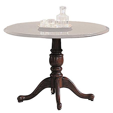 """HON® 94000 Series™ Table Base, For 42"""" And 48"""" Tops, Mahogany"""