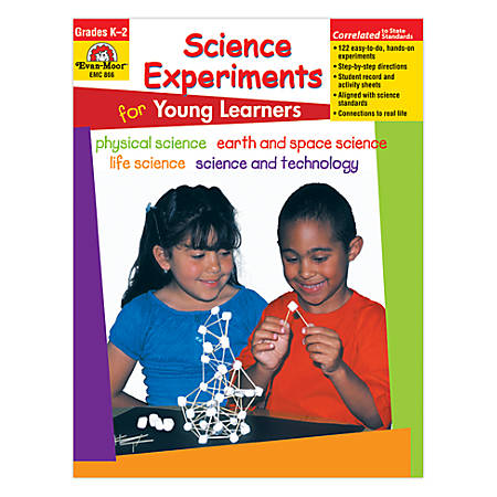 Evan-Moor® Science Experiments For Young Learners, Grades K-2