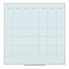 U Brands Frameless Floating Dry Erase