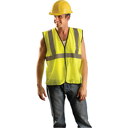 Class 2 Solid Vests, 2X/3XLarge, Hi-Viz Orange