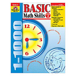 Evan Moor Basic Math Skills Grade