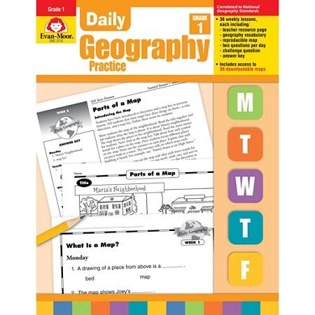 Evan-Moor® Daily Geography Practice, Grade 1 Item # 658935