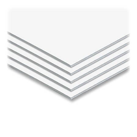 """Elmer's® Sturdy-Board Foam Boards, 30"""" x 40"""", White, Carton Of 10"""