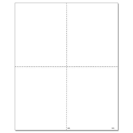 """ComplyRight™ W-2 Tax Forms, Inkjet/Laser, Employee Copy B, C, 2 And 1, 4-Up Box Format With Instructions, 8-1/2"""" x 11"""", Pack Of 2,000 Forms"""