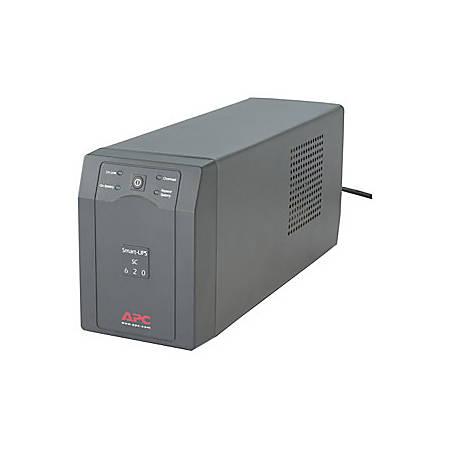 APC™ Smart-UPS® SC620 Battery Backup, 620VA/390 Watt