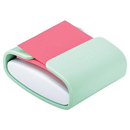 Post-it® Pop-up Note Color Dispenser, Mint