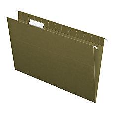 Pendaflex Standard Green Hanging Folders Legal