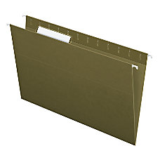 Pendaflex Standard Green Hanging Folders Legal