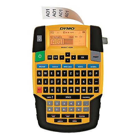 DYMO® Rhino 4200 Industrial Labeler