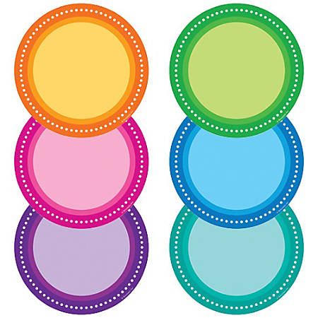Color Your Classroom Accents, Assorted Colors, Pack Of 36