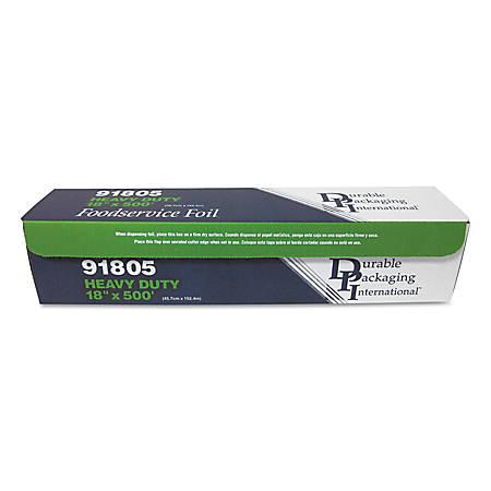"""GEN Heavy-Duty Foodservice Wrap Roll, 18"""" x 500', White"""