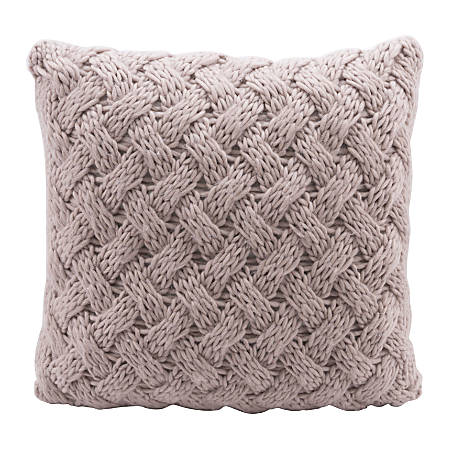 Zuo Modern Irma Pillow, Dusty Pink