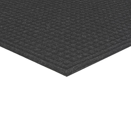 "Office Depot® Brand TireTuff Royale High-Traffic Entrance Mat, 36""H x 60""W, Onyx"