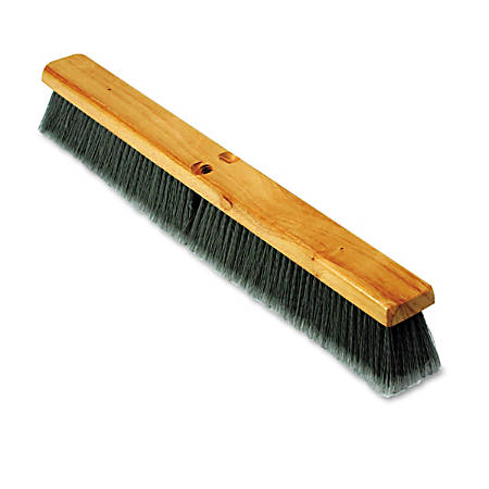 """Boardwalk® Floor Brush Head, 24"""", Gray"""