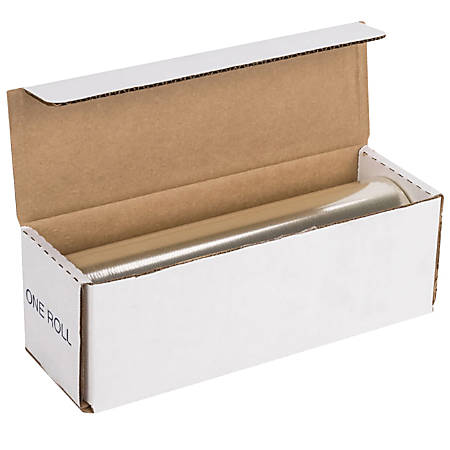 """Anchor Perforated Plastic Cling Wrap Film, 12"""" x 12"""" Sheets, Roll Of 1,600 Sheets"""