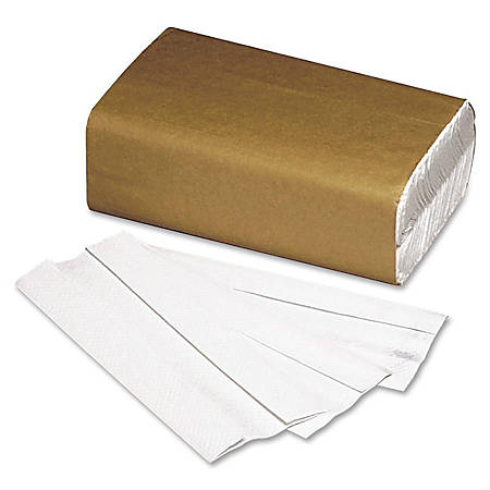 100% Recycled C-Fold Paper Towels, Box Of 200 (AbilityOne 8540-01-494-0909)
