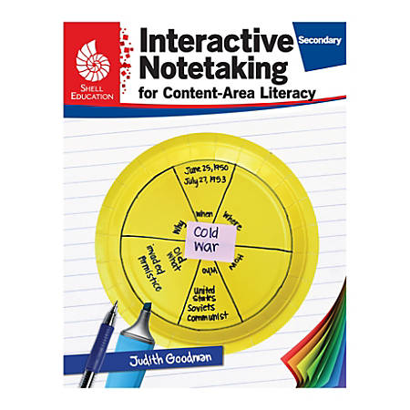 Shell Education Interactive Notetaking for Content-Area Literacy, Grades 6-8