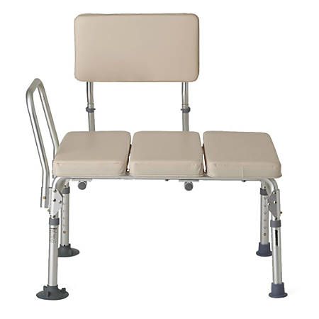Guardian Signature Padded Transfer Bench, Tan