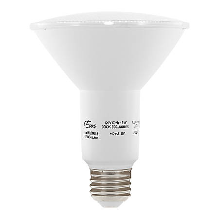 Euri 5000 Series PAR30 Long Dimmable 900 Lumens LED Light Bulb, 13 Watt, 4000 Kelvin/Cool White