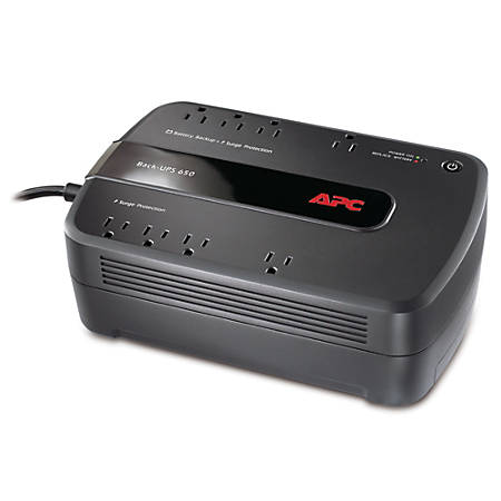APC® Back-UPS® ES 650VA Battery Backup