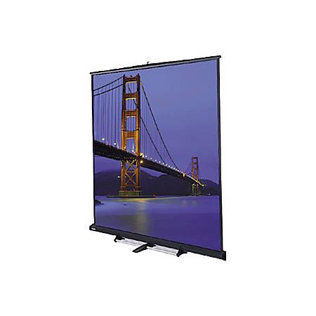 "Da-Lite Floor Model C 98046 Manual Projection Screen - 150"" - 4:3"