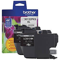 Brother LC30132PKS Original Ink Cartridge Black