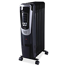 Lorell LED Display Mobile Radiator Heater