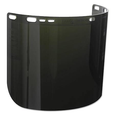 "Jackson Safety F50 IR/UV 5.0 Special Face Shield, 15 1/2"" x 8"""