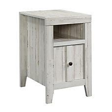 Sauder Dakota Pass Side Table White