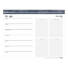 Noteworthy Weekly Planning Pad 10 x