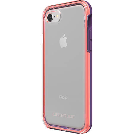 LifeProof iPhone 8 Case - For Apple iPhone 8 Smartphone - Coral, Lilac, Clear - Drop Resistant, Damage Resistant, Knock Resistant