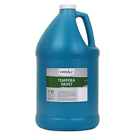Handy Art Premium Tempera Paint Gallon - 1 gal - 1 Each - Turquoise