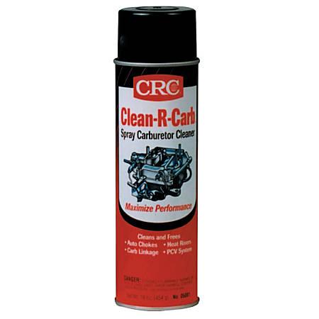 CRC Clean-R-Carb™ Carburetor Cleaner, 16 Oz, Pack Of 12 Cans