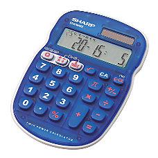 Sharp EL S25BBL Display Calculator Blue