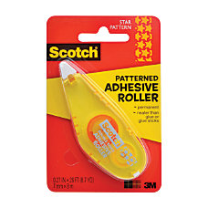 Scotch Adhesive Dot Roller Patterned 027