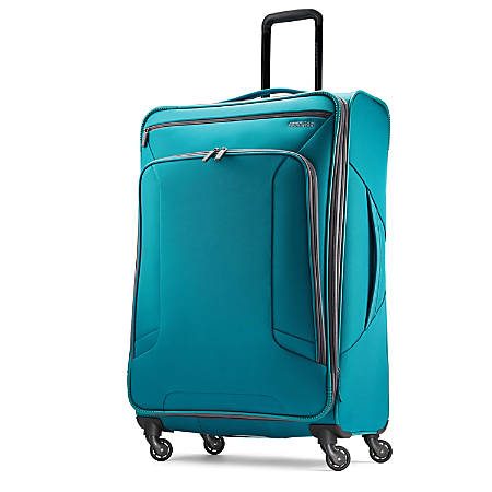 """American Tourister® 4 KIX Rolling Spinner, 28 1/4""""H x 19""""W x 10 1/2""""D, Teal"""