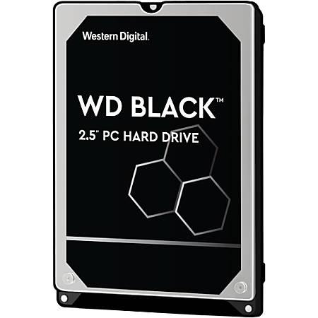 "WD Black™ 500GB 2.5"" Internal Hard Drive For Laptops/Mobile, 32MB Cache, SATA/600, WD5000LPLX"