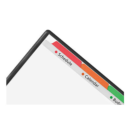 Avery® Clear Easy View™ Plastic Dividers, 5-Tab, Multicolor