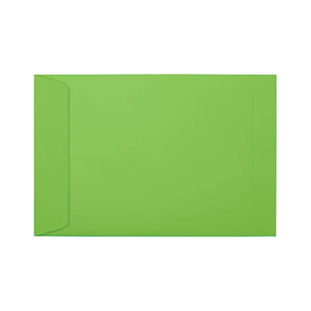 """LUX Open-End Envelopes With Peel & Press Closure, #6 1/2, 6"""" x 9"""", Limelight, Pack Of 500"""