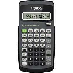 Texas Instruments TI 30Xa Scientific Calculator
