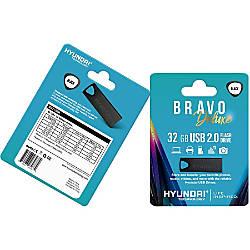 Hyundai Bravo Deluxe BLACK Keychain USB