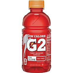 Gatorade Quaker Foods G2 Fruit Punch