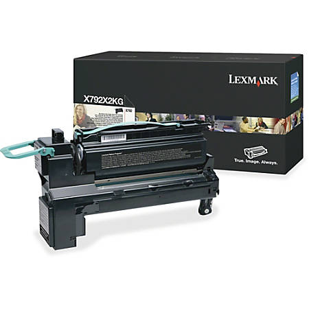 Lexmark X792X2KG Toner Cartridge - Laser - Extra High Yield - 20000 Pages - Black - 1 Each