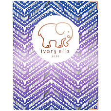 Cambridge Ivory Ella Ombre Chevron Hardcover
