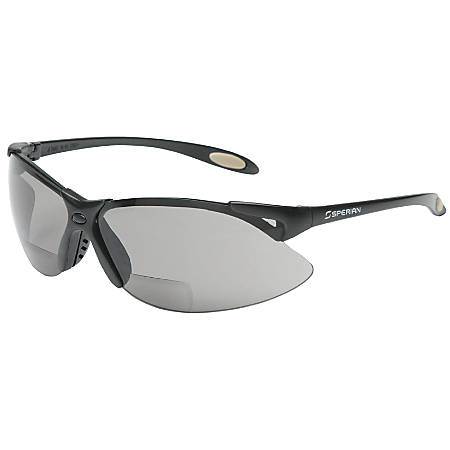 A900 Reader Magnifier Eyewear, +1.5 Diopters, Gray Polycarb Hard Coat Lenses